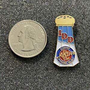 Kiwanis Aktion Club Sponsored Project IDD Sale Shaker Pin Pinback #39114