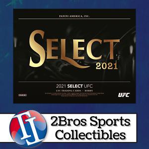 2021 UFC Select 6 Hobby Box Half Case Break 7/30 5pm CST - Vicente Luque