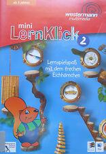 CD- mini Lern-Klick 2 - Lernspielspaß mit dem frechen Eichhörnchen (PC+Mac)