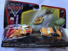 Disney Pixar Cars  2 pack Miguel Camino & Petro Cartalina Night Scene Int. packa