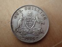 1935 Australian Shilling  gF - aVF (Lot 5)