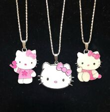 Hello Kitty Style Large Medallion Necklace