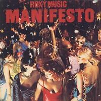 Roxy Music Manifesto Mini/LP Limited Edition Japan SHM-SACD UIGY-9670 New OBI