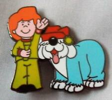 Jamie and the Magic Torch enamel badge. Kids, Childrens TV, Bod, Flumps,Chorlton