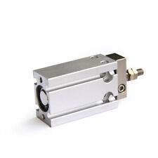 A●SMC CUK10-10D Free Mount Cylinder Double Non-rotating Rod Type Stroke 0.27mm