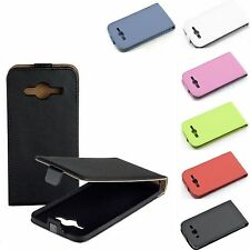 COVER CUSTODIA FLIP CASE ECOPELLE SAMSUNG GALAXY CORE 2 II G355 G355H MAGNETICA