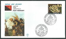 1984 VATICANO VIAGGI DEL PAPA PAPUA GUINEA PORT MORESBY - SV
