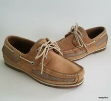 ~EXCELLENT!~ Men's Sperry Top Sider 2 Eye Leather Boat Shoes 7 M