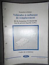 Ford : documentation atelier Gaz Naturel Liquéfié GPL - 1999 CG7788