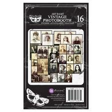 Prima Finnabair Vintage Photobooth Art Daily Planner 16 Sheets #964832