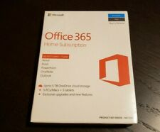 New Sealed Microsoft Office 365 Home Premium 1 Year Subscription