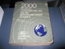 2000 FORD F-250 F-350 DIESEL SERVICE REPAIR MANUAL VOLUME 2
