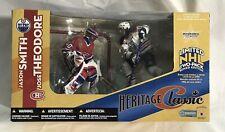 2004 McFarlane NHL Heritage Classic JASON SMITH JOSE THEODORE Oilers Canadiens