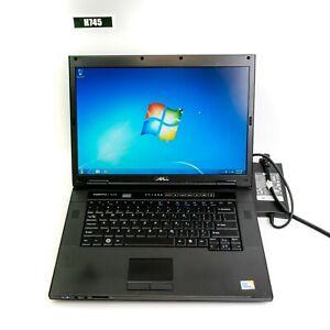 """DELL VOSTRO 1520 15.4"""" LAPTOP CORE 2 DUO T9550 4GB 320GB WIN 7 PRO H745"""
