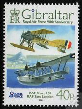SHORT Type 184 Seaplane & SARO A.27 LONDON Flying Boat 2008 RAF Aircraft Stamp