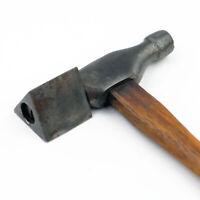 Antique / Vintage Glazier's Hammer w/ Revolving/Pivoting Triangular Head