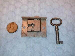 Drawer Door Lock Furniture Semi-mortise Small