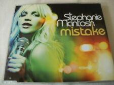 STEPHANIE MCINTOSH - MISTAKE - UK CD SINGLE