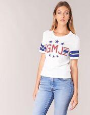 NWT Volcom 2017 Women GMJ Tee Top  Shirt Small Star White ex39