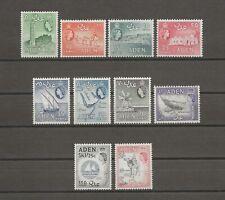 More details for aden 1964-65 sg 77/86 mnh cat £55