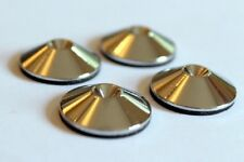 Spike Shoes Pads for Mission Tannoy Floorstander Speakers (X4). Polished Chrome
