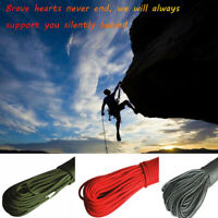 31M Rock Climbing Rope Camping Outdoor Fire Escape Cord Rescue Parachute Ropes Z
