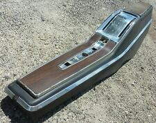 1973 74 75 76 77 Buick Skylark GS Automatic Auto Center Floor Console Plate OEM