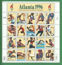 3068   US Summer Olympics - Atlanta 1996  Never Hinged Sheet  issued year 1996