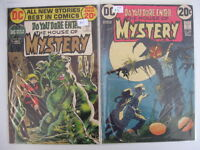 *HOUSE OF MYSTERY #204-220 8 Books Guide $83.50