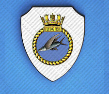 HMS FLYING FISH WALL SHIELD