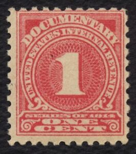 #R207 1c Documentary, Mint OG NH [5] **ANY 5=FREE SHIPPING**