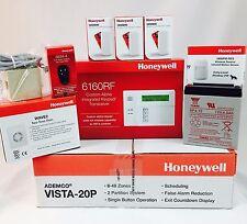Honeywell Vista 20P, 6160RF, 3-5800MINI D/W Senors, 5800PIR, 5834 Batt-Siren-J/C