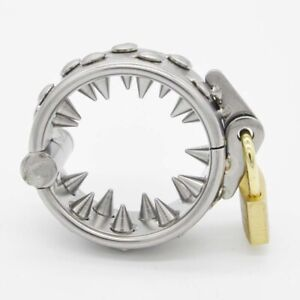 Male Stainless Steel Teeths(2 Rows)Ring Locking A091