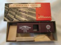 Vintage HO Athearn SEABOARD SILVER METEOR 40' Boxcar RD#19260 Kit A-303