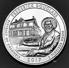 2017 D MINT - FREDERICK DOUGLAS NTL HIST SITE (DC) QUARTER UNCIRCULATED CLAD