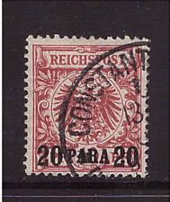 Deutsche Post in der Türkei, Mi-Nr. 7 ca, gestempelt, geprüft (20937)