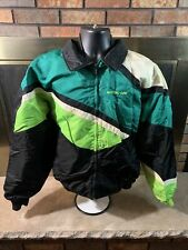 Vintage Arctic Cat Jacket Snowmobile Racing Coat Mens Large Vtg Arcticwear Liner