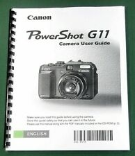 Canon PowerShot G11 Instruction Manual: 196 Pages & Protective Covers