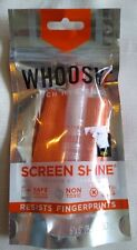 Whoosh screen cleaner Travel Size cleanser and wipe for glasses, or screens