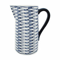 Jersey Pottery Ceramic Sardine Run 2 Liter Pitcher  - NWT