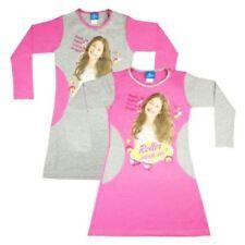 Vestidos de niña de 2 a 16 años de manga larga rosa