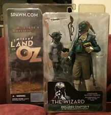 2003 New MIB Mc Farlane Twisted Land of Oz The Wizard includes Chapter 9