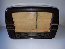 Philips BX480 A Tube Broadcast Receiver Bakelite Radio 1949