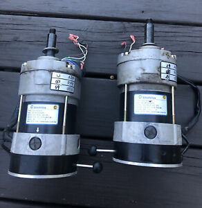 Left & Right Motors for Hoveround Teknique FWD / XHD A9Y1X02872/A9Y1X02871