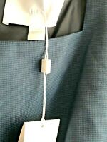 Hugo Boss Women DIGELA Micro Pattern K/L Square Nk Slvless Shift Dress Size 14