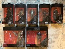 Star Wars Black Series Figure Lot