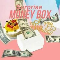 Cake ATM Happy Birthday Cake Topper Money Box Funny Cake ATM Happy Birthday NEW