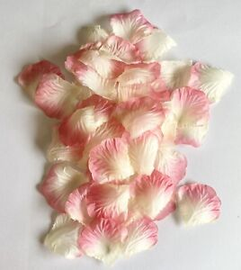 40 Pink Rose Petals Flower Engagement Birthday Party Table Decoration Confetti