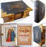 c.1850 HOLY BIBLE Old New Testaments Apocrypha Rev. Eadie Scott Henry 43 Plates