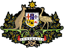 Australian coat of arms (Size apr 100mm by75mm)